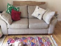 Next Garda Capri Mink 2 seat sofa