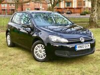 2010 VOLKSWAGEN GOLF 1.6 TDI ** 1 OWNER FROM NEW ** 86000 MILES ** 3 MONTHS WARRANTY **