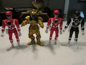 POWER RANGERS ACTION FIGURES - PRICE REDUCED