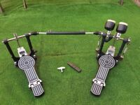SONOR DP492S Double Bass Drum Pedal + Accessories - Very Good Condition!!!