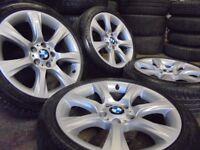 18inch genuine bmw Alloys Wheels 4 series 3 1 m sport Vw T5 transporter Vauxhall Vivaro traffic