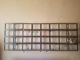 CD/DVD wall mounted shelves