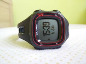 Garmin Forerunner 10 running and fitness GPS watch.