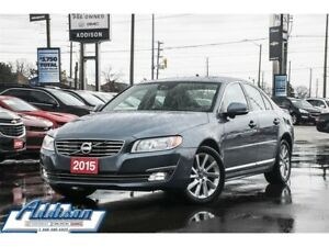 2015 Volvo S80 T5 Premier Plus - Leather Seats