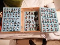 Hand Painted Box of Toy Soldiers - Waterloo Boxed