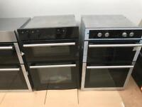 Brand new hotpoint built in double oven....CURRYS PRICE £332