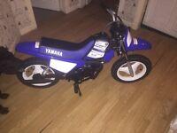 Yamaha pw50 kids motor bike swap transit connect