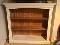 Gorgeous Painted Pine Bookcase 4ft