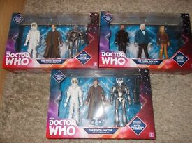 Dr who figure sets brand new