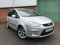 2009 (09) Ford C-MAX 1.8 16v 125 Zetec 47,000 MILES FULL SERVICE HISTORY IMMACULATE CONDITION FOCUS