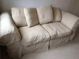 FREE - Cream 2 Seater Sofa