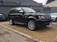 2007 LAND ROVER RANGE ROVER SP HSE TDV6 A BLACK .....FINANCE AVAILIBLE .... p/x welcome