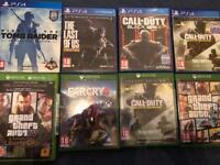 PS4 & Xbox one Games for sale (check description)