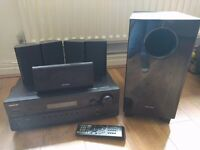 Onkyo 5.1 AV receiver and speaker system with Dolby HD and DTS HD audio