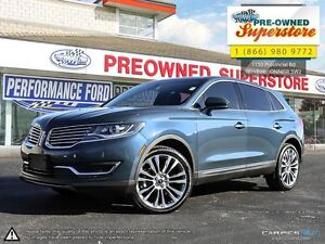 2016 Lincoln MKX Reserve***NAV, leather, AWD***