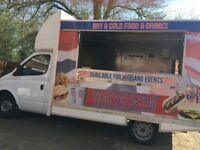 Burger and Hot Food Van.