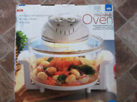 JML HALOGEN OVEN AND COOK BOOK (BRAND NEW)