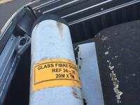 Glass fiber bonding felt
