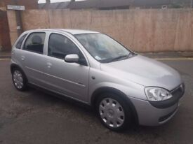 1.2vauxhall corsa twinport 5door 2005year 91000mile history mot 10/01/2018 hpi clear 3month warranty