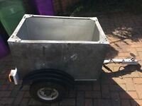 250kg 3ft x 2ft galvanized car box trailer