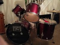 4 Piece Drum Kit