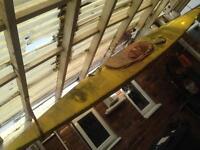 Canoe, fibreglass