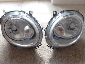 Mini One European continenetal head lights and rear lights set
