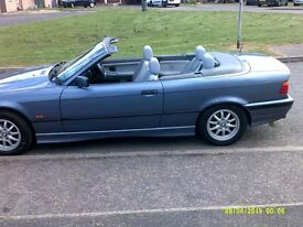 JUST REDUCED323ibmw convertible full bmw service history years mot taxed