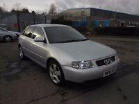 2002 (51 Reg) Audi A3 1.8 T Sport 5dr for £795, 12 Months Mot on Sale & 3 Months Warranty