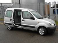 renault kangoo MPV petrol, immaculate condition throughout 66k miles, service history
