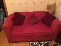 small bed settee and matching chair