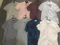 Mens burton shirts medium short sleeve