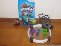 Nintendo Wii Skylander Swap Force Starter Game with Portal and 4 Characters