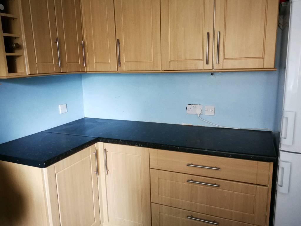 Kitchen units plus worktop | in Bournemouth, Dorset | Gumtree