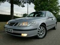 SAAB 95 9 5 2.3T AUTO AUTOMATIC *3 OWNERS FULL MOT BEAUTIFUL CAR* 2.3 T 9-5 vectra mondeo astra ford