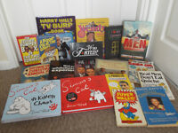 Comedy and Funny Books Job Lot