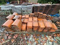 Reclaimed Belgium Clay Roof & Ridge Tiles