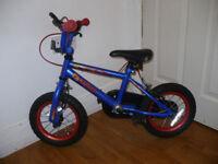 Kids 12 inch Bike. Boy/Girl. Excellent condition.