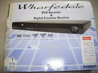 Wharfedale DVDR24F recorder & Digital Freeview Receiver