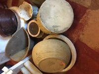 Small Vintage Garden pots inc. Hillstonia & Pottery Coulsdon near Croydon A23