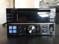 Alpine head unit cd Bluetooth aux usb player