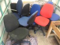 Office swivel chair £5 each