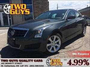 2014 Cadillac ATS 2.0L Turbo LEATHER SUN ROOF BACK UP CAMERA