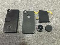 iPhone 5 / 5s fisheye lens and cases - smartphone lens - blackeye