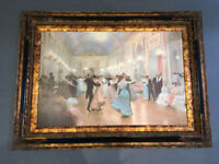 Ballroom Painting with Frame