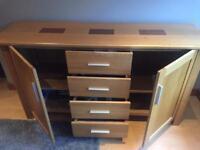 Stunning solid Oak sideboard for sale