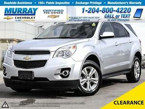 2012 Chevrolet Equinox FWD 4dr 2LT * 0.9% Financing, Bluetooth,