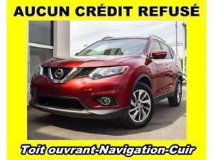 2015 Nissan Rogue AWD NAVIGATION CUIR *TOIT PANORAMIQUE*