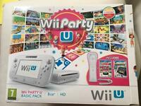 Wii Party U 8gb Basic Pack White