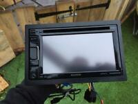 Kenwood double din head unit garmin nav DVD handsfree swap for dewalt or makita 18v stuff